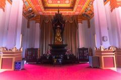 26 de septiembre de 2014: Palacio en ese Luang, Vientián, Laos Imágenes de archivo libres de regalías