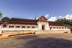 20 de septiembre de 2014: Palacio real de Luang Prabang, Laos Imagenes de archivo