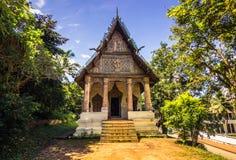 20 de septiembre de 2014: Templo budista en Luang Prabang, Laos Foto de archivo
