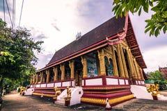 20 de septiembre de 2014: Templo budista en Luang Prabang, Laos Fotografía de archivo