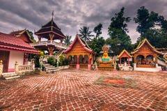 21 de septiembre de 2014: Templos en la prohibición Xang Hai, Laos Foto de archivo