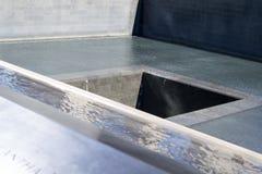 11 de septiembre monumento en Manhattan más baja, NYC Imagenes de archivo
