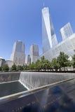11 de septiembre monumento - New York City, los E.E.U.U. Imagen de archivo libre de regalías