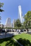 11 de septiembre monumento - New York City, los E.E.U.U. Foto de archivo libre de regalías