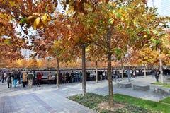 11 de septiembre monumento, World Trade Center Foto de archivo