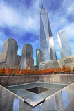 11 de septiembre monumento, World Trade Center Foto de archivo libre de regalías