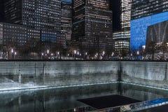 29 de septiembre de 2017 - NUEVA YORK/los E.E.U.U. - monumento 11 de septiembre, mundo tr Imagenes de archivo