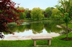 De Sereniteit van de lente Stock Afbeeldingen