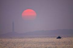 De Sereniteit van de zonsopgang stock afbeeldingen