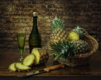 De serie con el pineappe Fotos de archivo libres de regalías