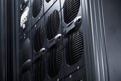 De Serie van UPS in een gegevenscentrum Stock Afbeeldingen