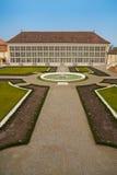 De serre en de tuin van Orangerie Royalty-vrije Stock Foto's