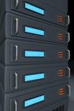 De server van het netwerk vector illustratie
