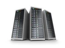 De servernet van IT Stock Afbeeldingen