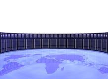 De serverruimte van de computer Stock Afbeelding
