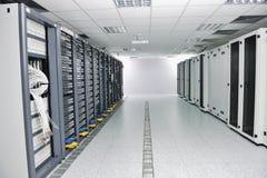 De serverruimte van het netwerk Royalty-vrije Stock Foto's