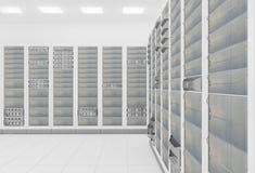 De serverruimte van het netwerk Royalty-vrije Stock Afbeelding