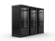 De servers van de computer Stock Fotografie