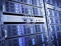De servers van de computer Stock Foto's