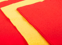 De servetten van de kleur Royalty-vrije Stock Foto