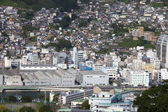 13 de setembro 2016 cidade de Nagasaki, Japão Fotografia de Stock