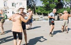 22 de setembro de 2011, competição da música e da dança na Croácia Fotos de Stock Royalty Free