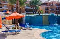 6 de setembro de 2016, Iris Village complexa residencial, Pafos, Cypr Fotografia de Stock Royalty Free