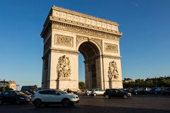 9 de setembro de 2015, o arco triunfal, Paris, França Foto de Stock