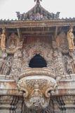 14 de setembro de 2014 O templo verdadeiro é um completel original do templo Foto de Stock