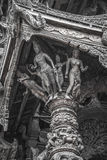14 de setembro de 2014 O templo verdadeiro é um completel original do templo Fotografia de Stock Royalty Free