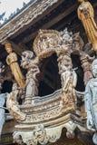 14 de setembro de 2014 O templo verdadeiro é um completel original do templo Imagens de Stock Royalty Free