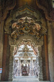 14 de setembro de 2014 O templo verdadeiro é um completel original do templo fotos de stock