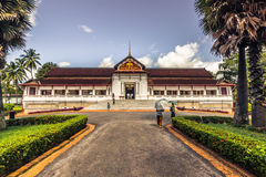 20 de setembro de 2014: Palácio real de Luang Prabang, Laos Imagem de Stock Royalty Free