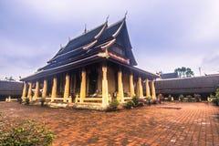 25 de setembro de 2014: Templo budista de Sisaket em Vientiane, Laos Foto de Stock Royalty Free