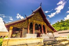 20 de setembro de 2014: Templo budista em Luang Prabang, Laos Imagem de Stock
