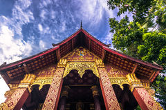 20 de setembro de 2014: Templo budista em Luang Prabang, Laos Foto de Stock