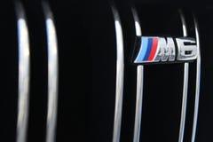 26 de setembro de 2016, Kyiv Logotipo BMW M6 fotografia de stock