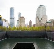11 de setembro memorial Imagem de Stock Royalty Free