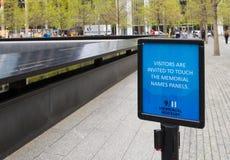 11 de setembro memorial Imagens de Stock