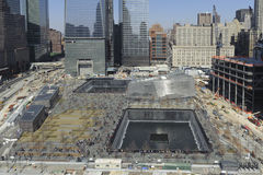 11 de setembro memorial infinito da associação Imagem de Stock