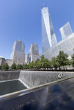 11 de setembro memorial - New York City, EUA Imagem de Stock Royalty Free