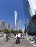 11 de setembro memorial - New York City, EUA Imagens de Stock Royalty Free