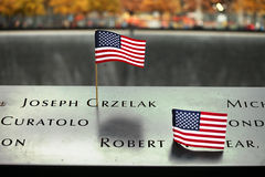 11 de setembro memorial, World Trade Center Imagem de Stock Royalty Free