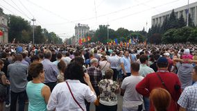 6 de setembro protesto Fotos de Stock