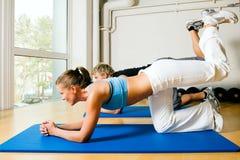 De sexy Gymnastiek van de Ezel Royalty-vrije Stock Foto's