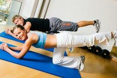 De sexy Gymnastiek van de Ezel Royalty-vrije Stock Foto