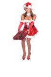 De Sexy Helper van de kerstman royalty-vrije stock foto's