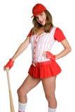 De sexy Speler van het Honkbal stock afbeelding
