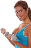 De sexy Vrije Training van het Gewicht Stock Fotografie