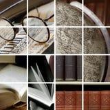 De sferen van de bibliotheek stock afbeelding